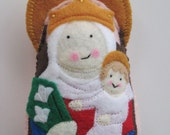 Our Lady of Walsingham Felt Saint Softie