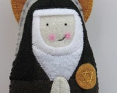 Saint Teresa Benedicta of the Cross Felt Saint Softie