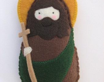 Saint John the Baptist...Felt Softie