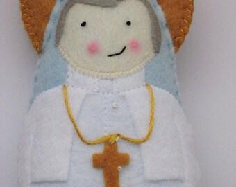Saint John Paul II...Felt Softie