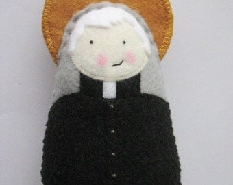Saint Andre Bessette Felt Saint Softie