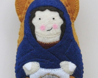 Saint Veronica Felt Saint Softie