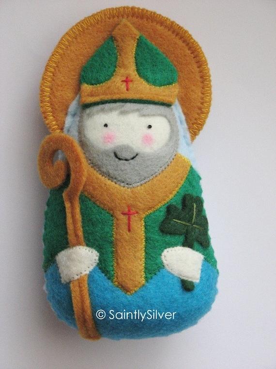 Saint Patrick Felt Saint Softie