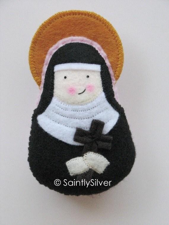 Saint Samantha Felt Saint Softie