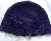 PRICE REDUCED Hand-Painted Hand Crocheted Super Soft Hat