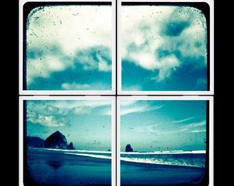Seaside Memory - Ceramic Coaster Set