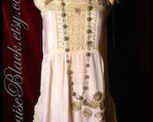Little Minx Silk 1920's Flapper Dress by Louise Black
