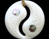 23 - Yin Yang Design with Abalone Shell