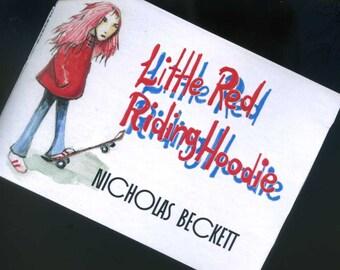 Little Red Riding Hoodie - A Grimm Australian Fairy Tale