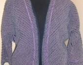 Purple Chenile Jacket