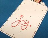 Joy Gift Tags - Set of 10