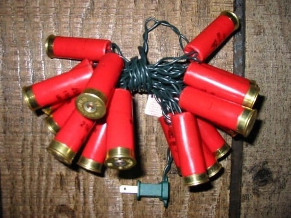 Items Similar To Shotgun Shell Home Decor Party Lights