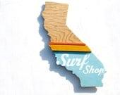 surf shop wall art