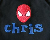 SPIDERMAN Boys T-Shirt Personalized Boutique Appliqued Custom