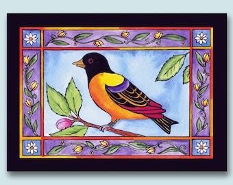 Yellow Bird Card