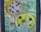 The thinking spot - Original Art Quilt