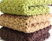 Natures Collection - Crochet Cotton Dishcloths