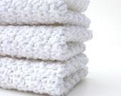 Crochet Cotton Dishcloths  Pick Your Colors