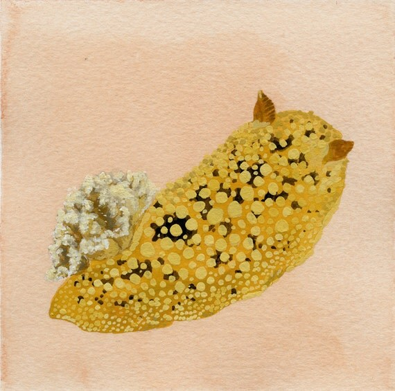 sea lemon original painting