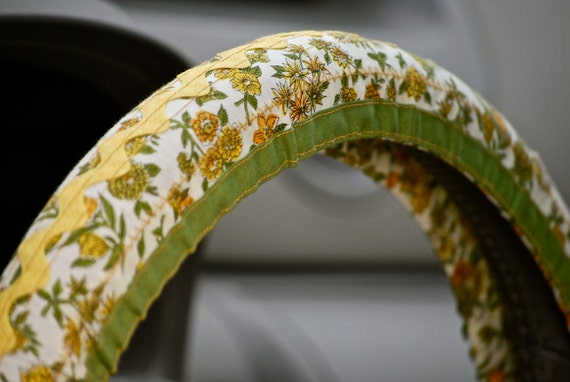Hippie Chick Steering Wheel Cover by Whoopsie Daisies on Etsy