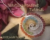 Nautilus Pendant Tutorial--Step by Step Instruction