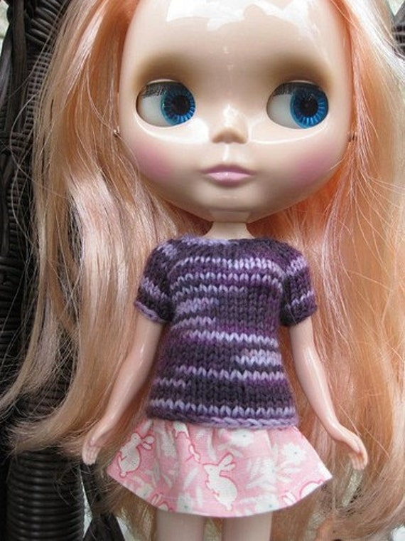 SALE Scottie Sweater for Blythe OOAK - Special Sale Price