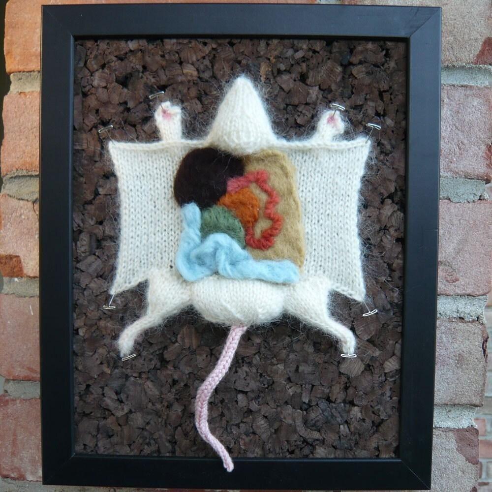 Knitting Pattern For Rat Sweater : Lab Rat PDF knitting pattern