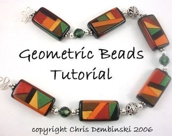 Geometric Beads Tutorial - polymer clay