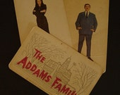 3 Addams Family Cards......vintage1965