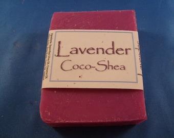Lavender Coco-Shea Vegan Soap