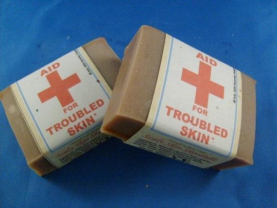 Scaly Skin Skeedadle Vegan Soap