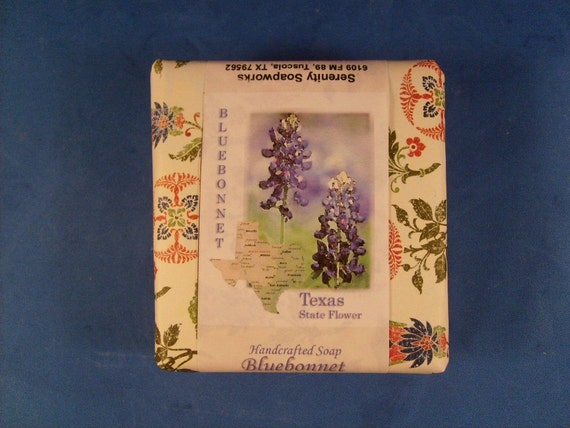 Bluebonnet Goats Milk Soap - Reserved for MG Whisenhunt