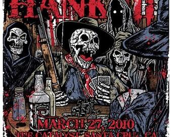 Hank Williams III Catalyst Silk Screen Poster - Etsy