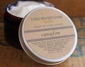 Campfire Skin Cream with Organic Aloe Juice hand body Lotion