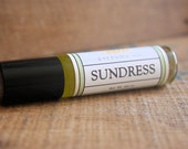 Sundress Perfume Oil Coconut Hemp Roll On Cucumber Lemon Gardenia