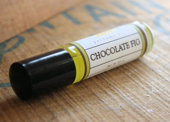Chocolate Fig Perfume Oil Coconut Hemp Roll On