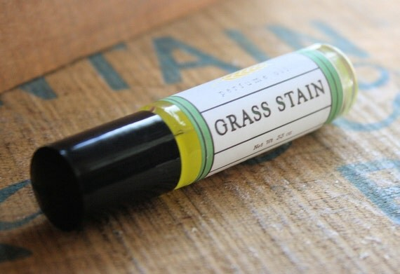 Grass Stain Perfume Oil Coconut Hemp Roll On
