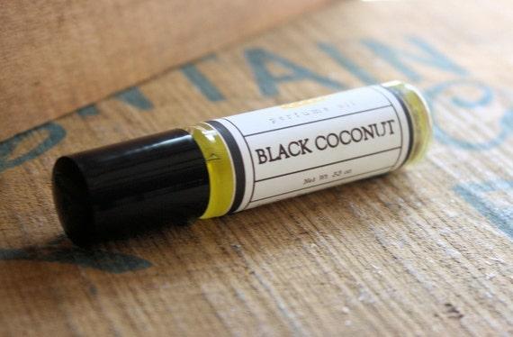 Black Coconut Perfume Oil Coconut Hemp Roll On
