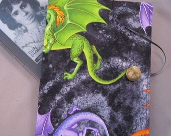 Kindle Case, Kindle Cover, EReader Case, Nook Case,  Dragons Fabric