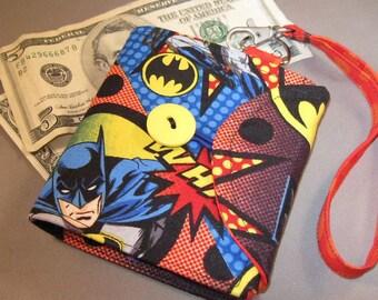 Womens Wallet made from Dark Knight and Joker Fabric