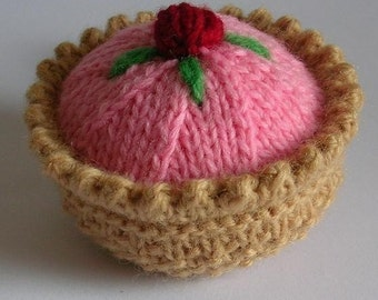 Pretty Pastry Knitting Pattern PDF