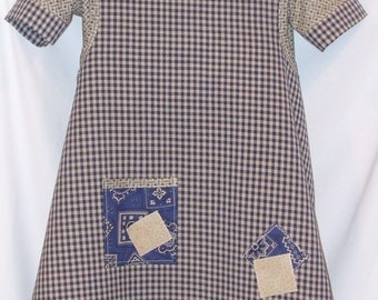 Annie Orphan Dress Costume 2pc Set Handmade Girl Sizes 3T to size 14