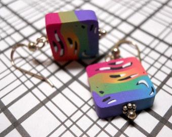 Handmade Polymer Clay Earrings by TLS Clay Design