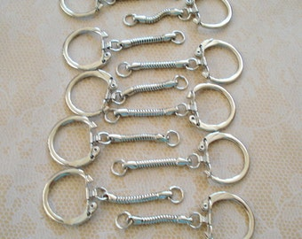 20 Keyrings With Snake Chain