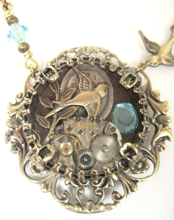 Sparrow Under Glass ... Steampunk