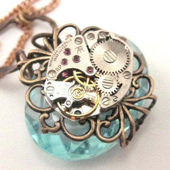Timely Elegance ... Aqua ... Steampunk
