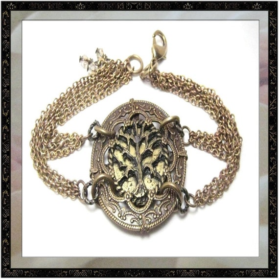 Tree of Life Bracelet ... Steampunk