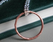 Friendship Ring - Mixed Metals Jewelry - Necklace AND Ring