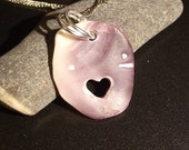 LL Cool Shell - Eco Love Wampum Shell Heart Necklace