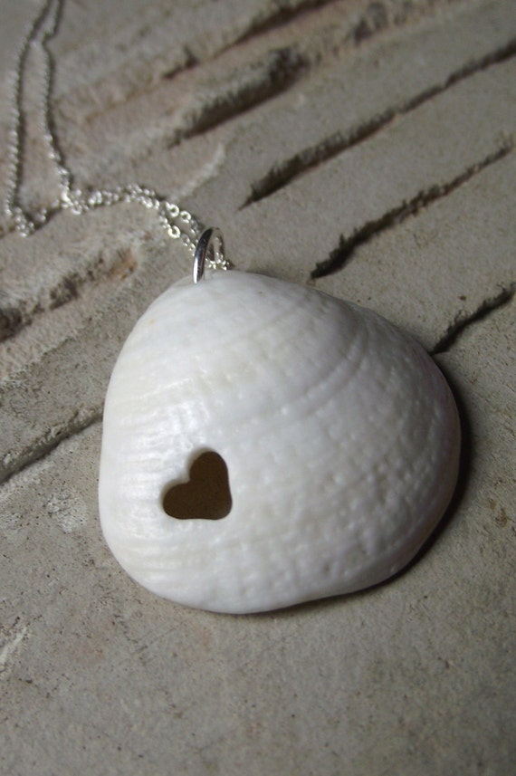 LL Cool Shell Sea Shell Jewelry Eco Love Necklace